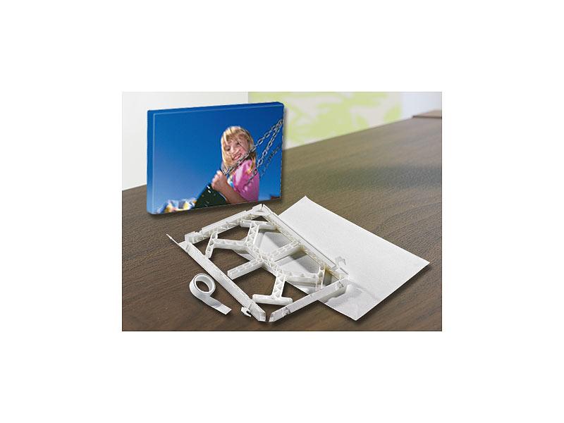 Your Design Foto-Inkjet-Leinwand-Set zum Selbstbedrucken, 18 x 24 cm