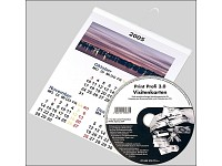 Your Design Fotokalender-Set deluxe A6 hoch (250g/m²) inkl. Software