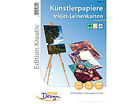 Your Design 20 Blatt A4-Leinenpapier 185 g/m² Inkjet matt
