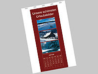 Your Design Fotokalender-Set A5 hoch (140g/m²) inkl. Software