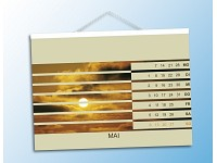 Your Design Fotokalender-Set deluxe A5 quer (250g/m²) inkl. Software