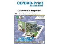 Your Design 100 CD-Cover/Einleger-Sets seidenmatt 160 g/m²