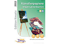 Your Design 80 Blatt Leinenpapier 185 g/m² Inkjet matt