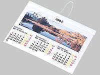 Your Design Fotokalender-Set A6 quer (140g/m²)