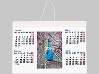 Your Design Fotokalender-Set deluxe A5 quer (250g/m²)
