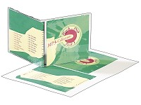 Your Design 120 CD-Booklets Spezialkarton 185 g/m² für Inkjet