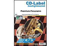 Your Design 48 FotoGlossy CD-Panorama-Labels 118/18