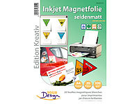 Your Design 20 Inkjet-Magnetfolien A4 matt/weiß