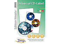 Your Design 300 CD-Label Standardformat Universal für Laser/Inkjet